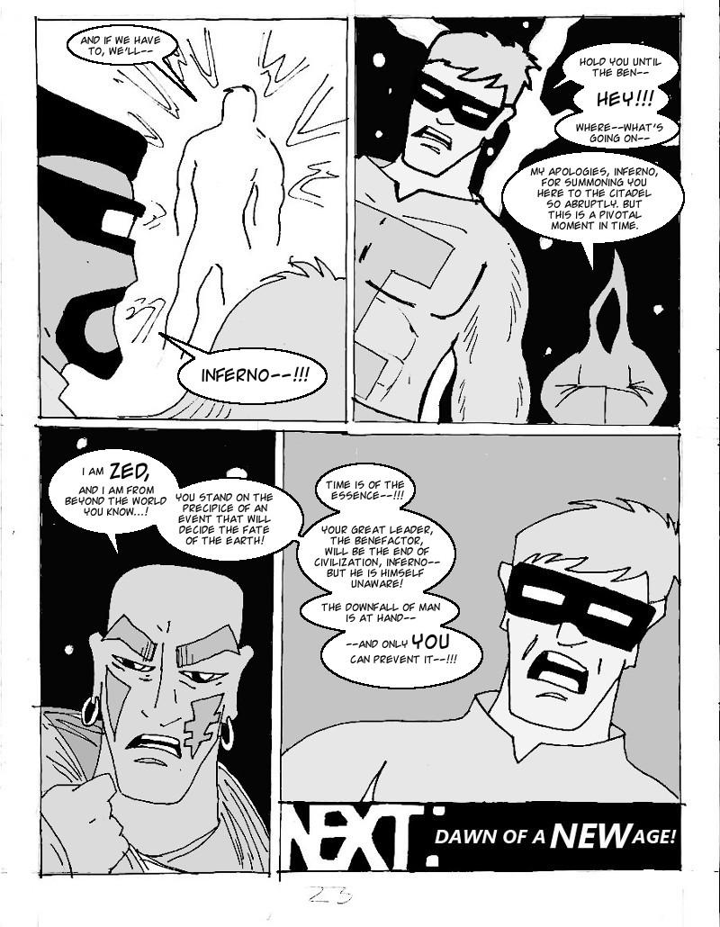 The Ill #4 page twenty three