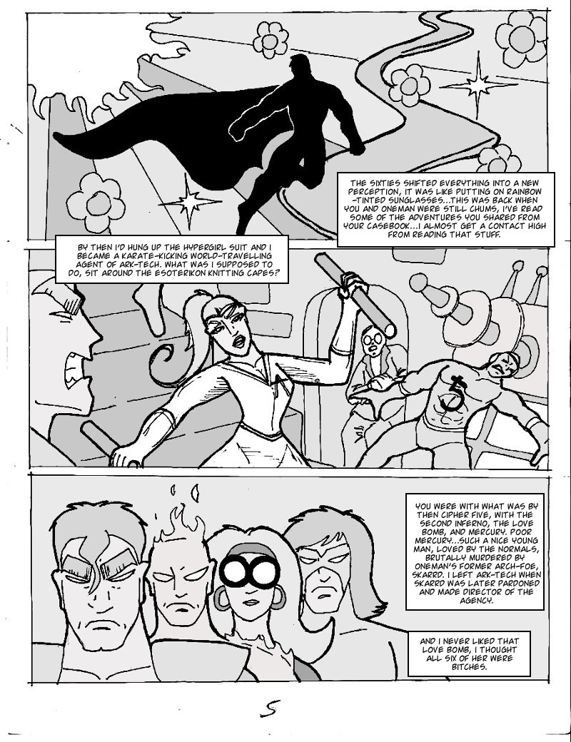 The Ill #4 page five