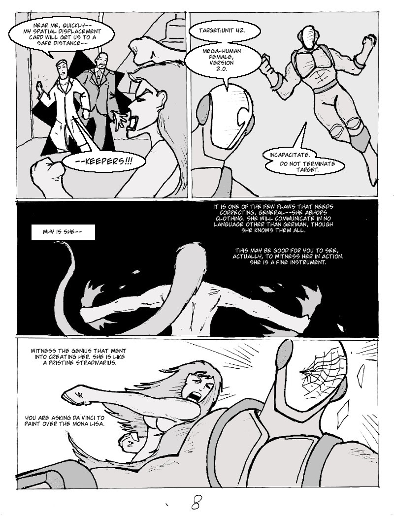 The Ill #3 page eight