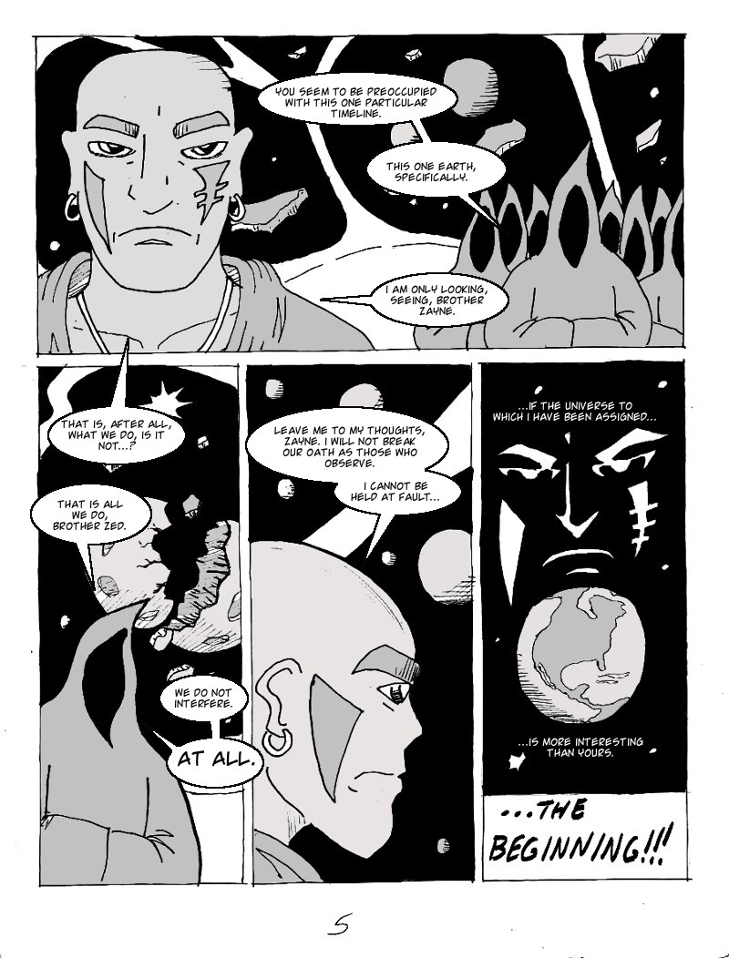 Daybreaker page 5