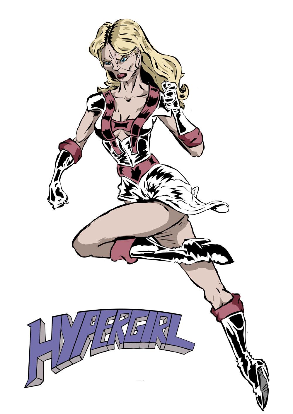Hypergirl art from a reader!