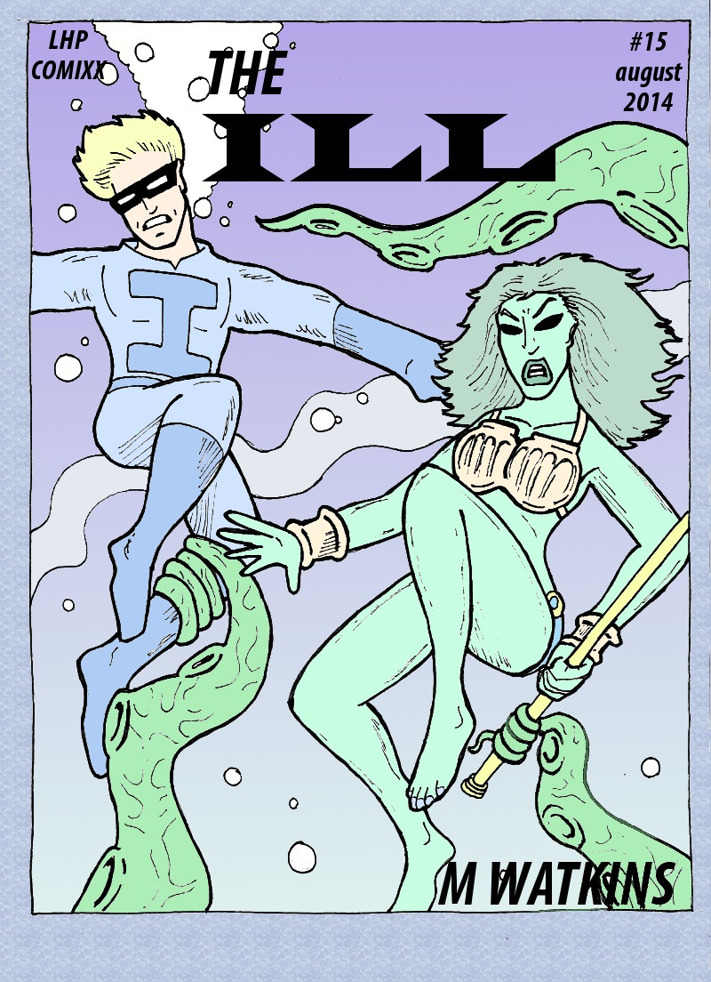 The Ill #15 cover